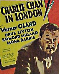 Charlie Chan in London Plakat