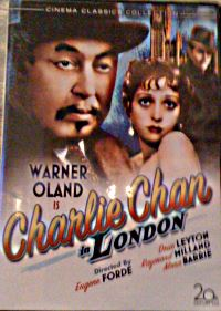 Charlie Chan in London - Fox DVD