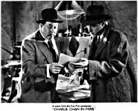 Charlie Chan in Paris Still