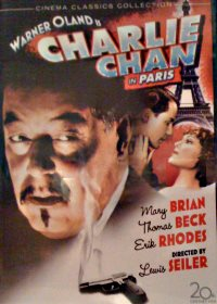 Charlie Chan in Paris Fox-Dvd