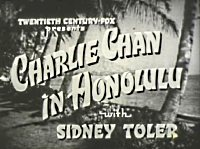 Charlie Chan in Honolulu Originaltitle