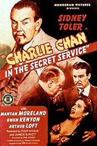 Charlie Chan in the Secret Service Plakat