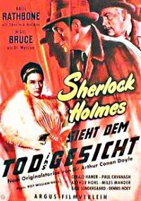 Sherlock Holmes sieht dem Tod ins Gesicht