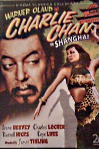 Charlie Chan in Shanghai DVD