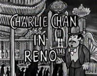 Charlie Chan in Reno - dtTitel
