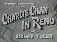 Charlie Chan in Reno - title