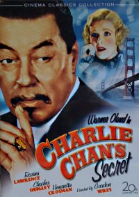Charlie Chans Secret - dvd