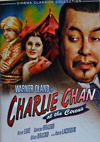 Charlie Chan at the Circus - dvd