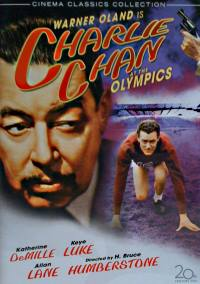 Charlie Chan at the Olympics - DVD Cover