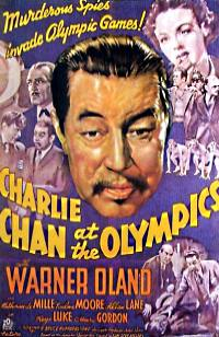 Charlie Chan at the Olympics - Poster 1