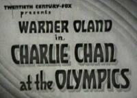 Charlie Chan at the Olympics - Title