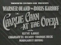 Charlie Chan at the Opera - title