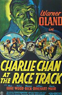 Charlie Chan at the Race Track - poster1