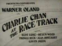Charlie Chan at the Race track - title