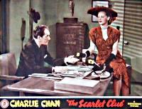 The Scarlet Clue - Lobbycard 2