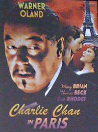 Charlie Chan in Paris - dt DVD