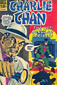 Dell Comics - Charlie Chan