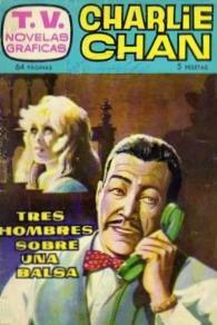 Charlie Chan TV Novelas Tres Hombres sobre una balsa