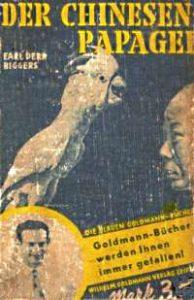 Der Chinesenpapgei, Goldmann 1930